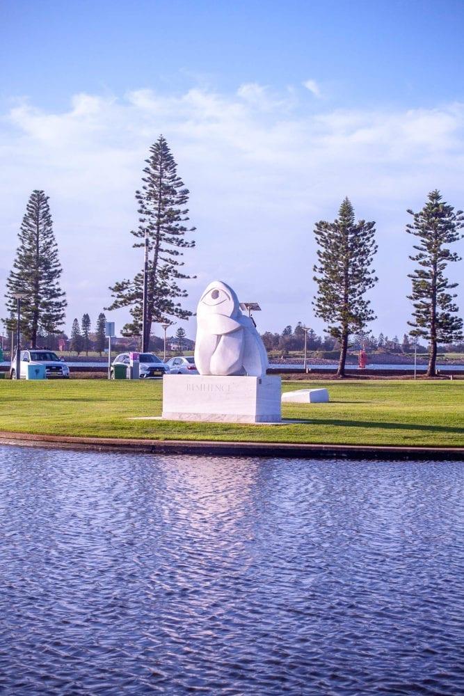 Newcastle Foreshore Park Sculpture
