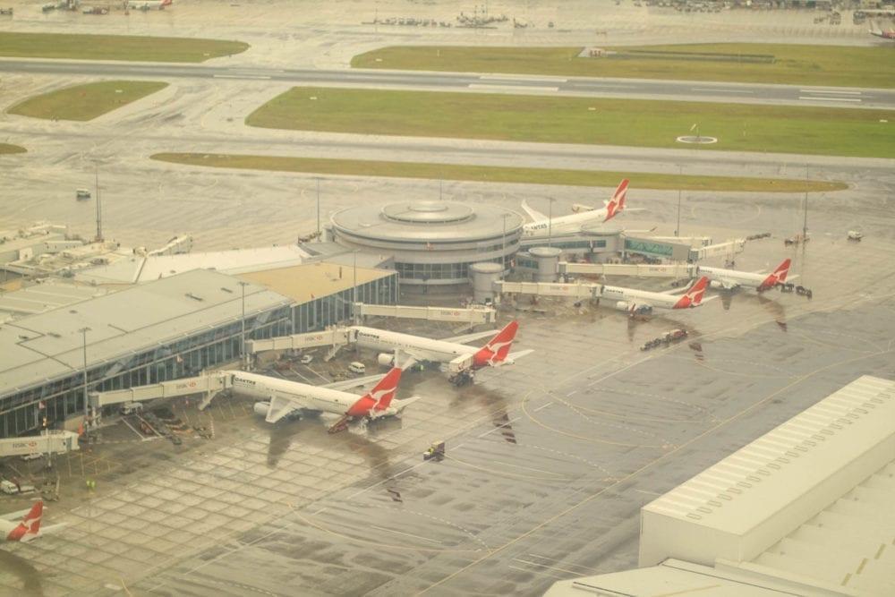Qantas Sydney T3