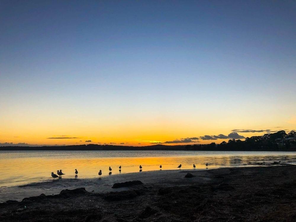 Sunset at Warners Bay