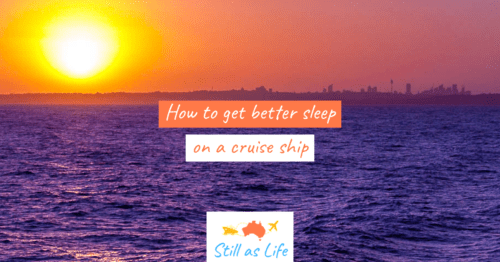 How to get better sleep on a cruise ship - Header