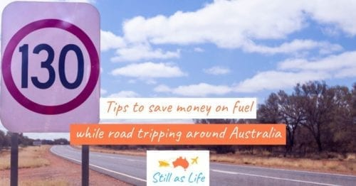 Tips to save money on fuel road tripping Australia - 130kmh Header